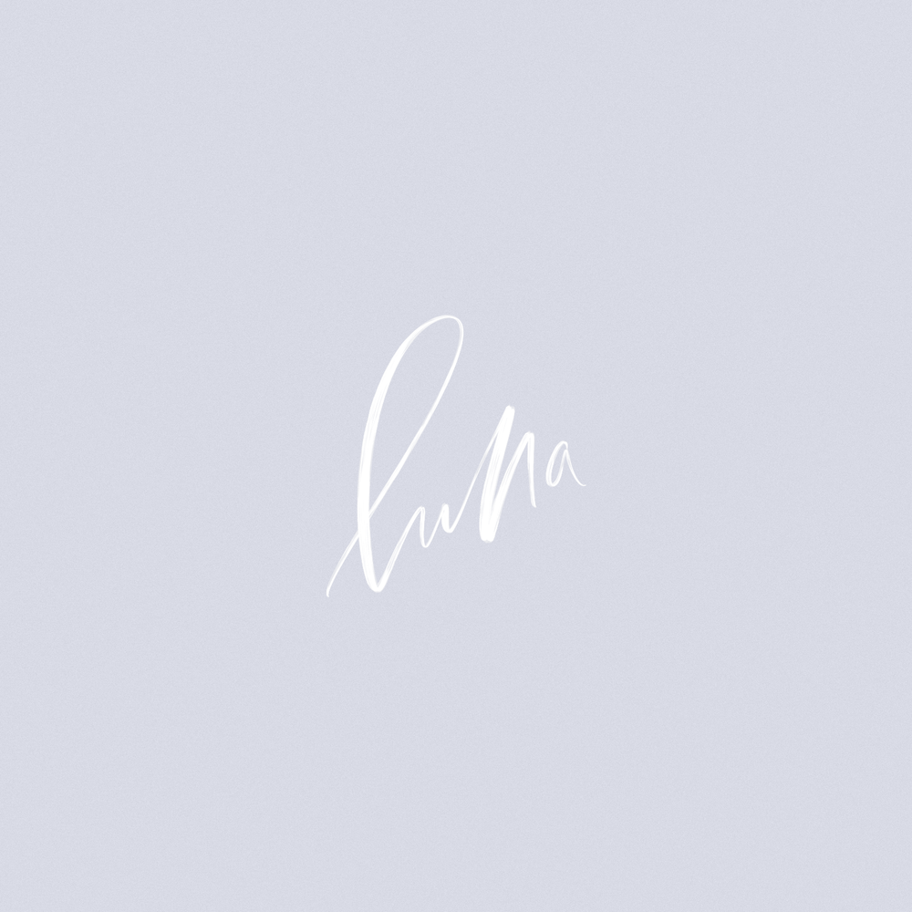 Luna Lettering by Mel Volkman Hand Lettering Hand Lettered Logo Beautiful Lettering Custom Lettering.png