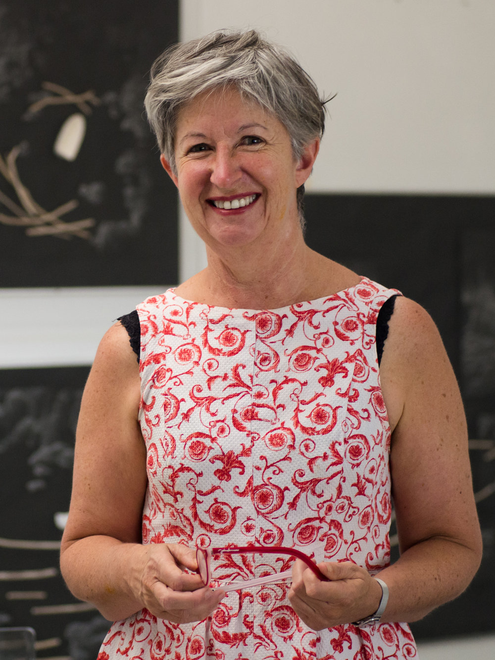 Julie Payne has exhibited in many solo and collaborative exhibitions within Australia. Her interests are wide ranging which has led to a diverse arts practice incorporating sculpture, site specific gardens, drawings and installations. Site specific text gardens have been commissioned at the Royal Tasmanian Botanic Gardens, Woolmers Historic Site, the Cataract Gorge and at the Queen Victoria Museum and Art Gallery. Julie has lectured within the fields of Architecture, Furniture Design, and Sculpture at the University of Tasmania.