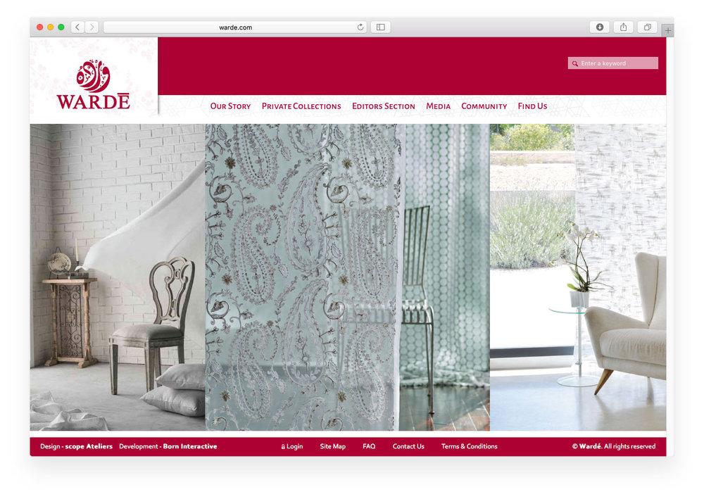 Wardé website