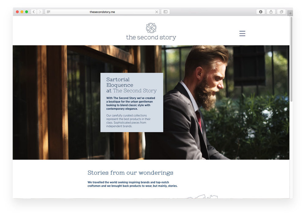 The Second Story website