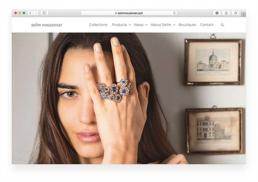 Selim Mouzannar Website