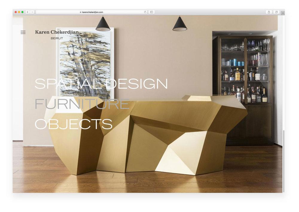 Karen Chekerdjian website