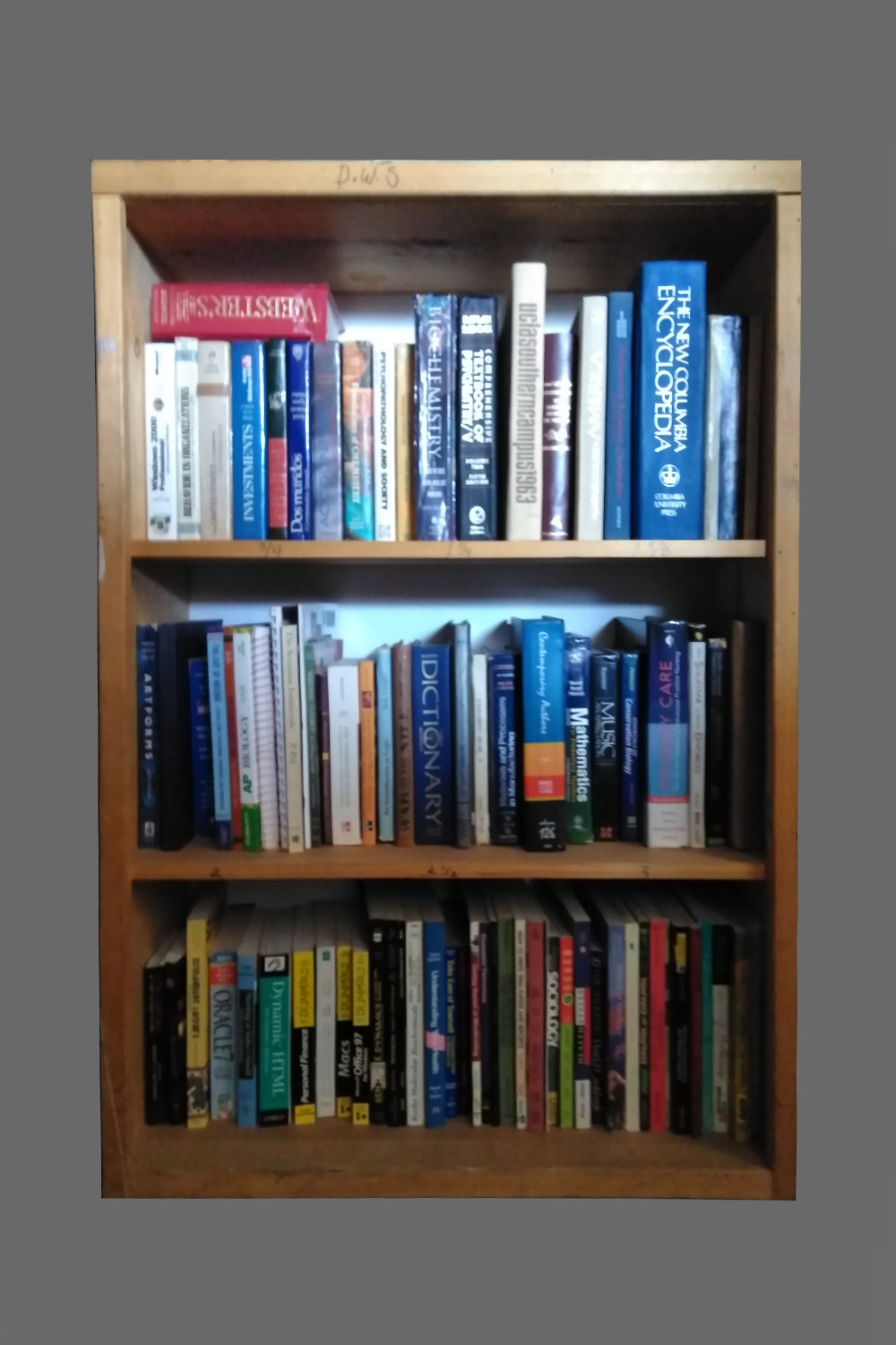 Student College text books (Faux and Real) $12/ft per wk