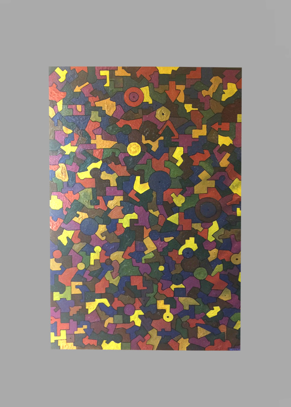"Puzzled 40""x60"" $95/wk"