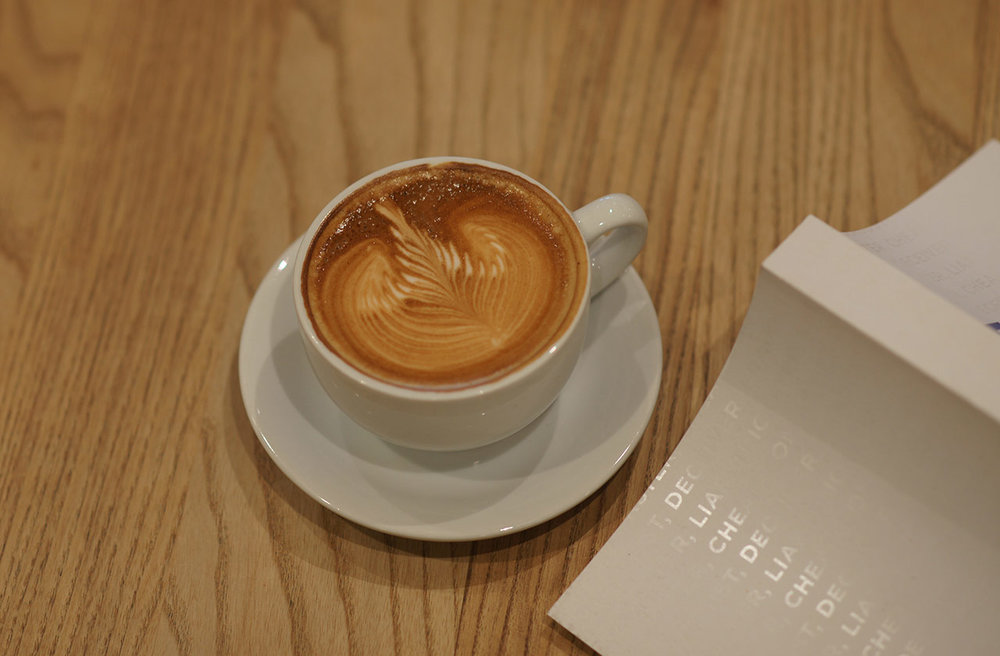 Enjoy a coffee in our cafes. -
