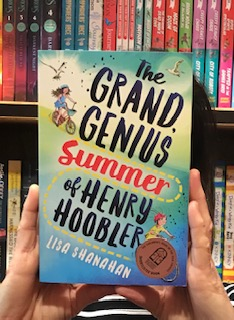 Grand Genius Summer Of Henry Hoobler by Lisa Shanahan   A good Aussie story about family camping and summer holidays. A young boy wrestles with common childhood anxieties. Suitable for middle to upper primary-school kids.  Reviewed by: Claire