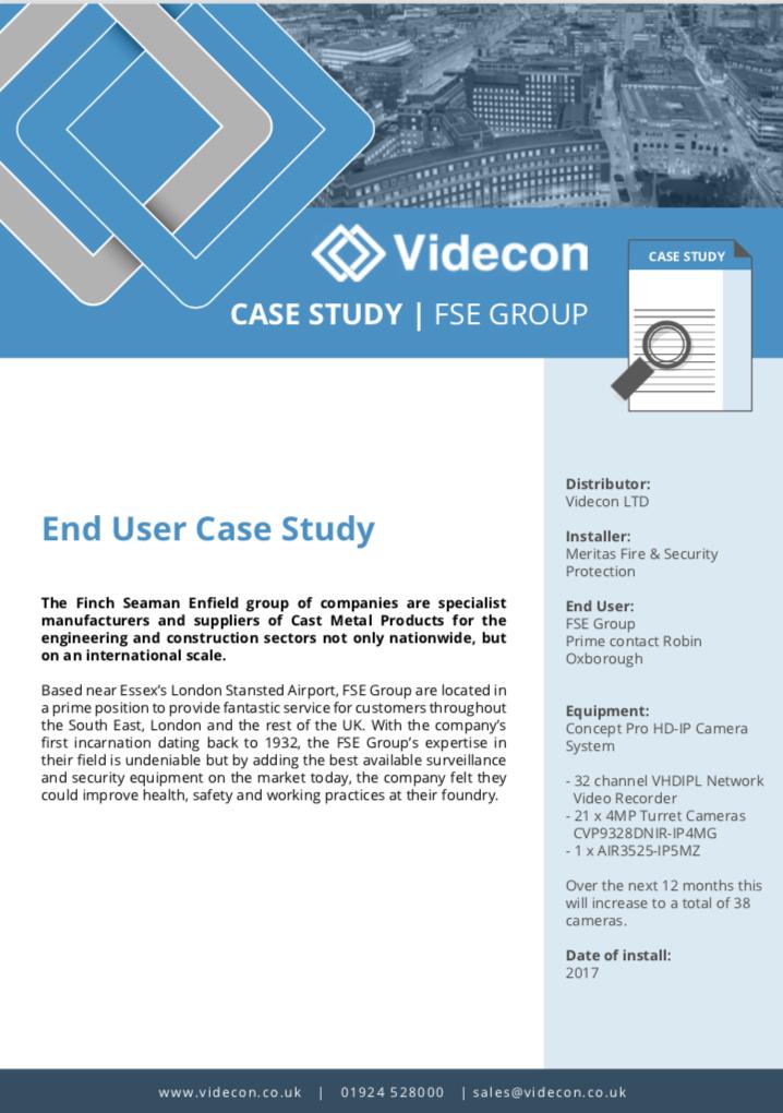 FSE Group - Case Study