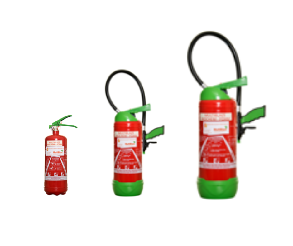 MultiBlaze Fire Extinguisher Range
