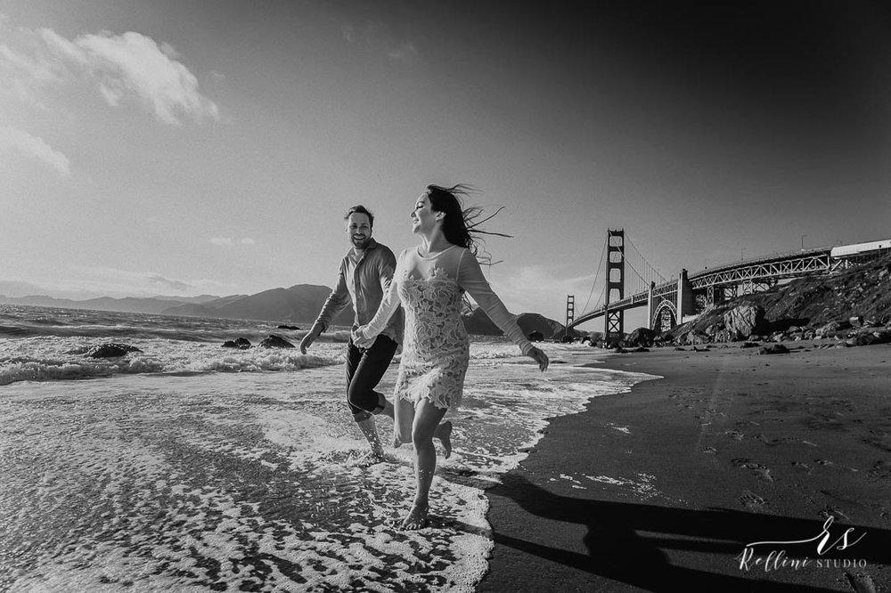 engagement photo session San Francisco