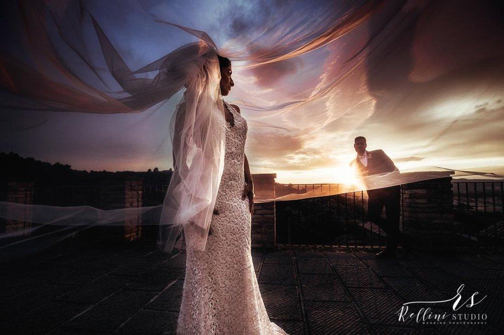 Castello di Rosciano destination wedding photographer