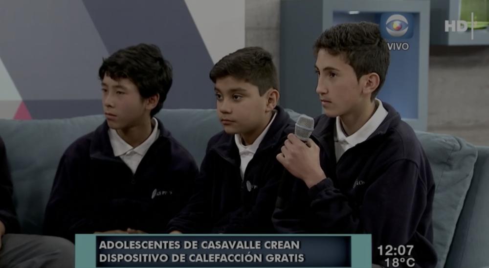 Adolescentes presentan el proyecto Dale Calor a Casavalle -