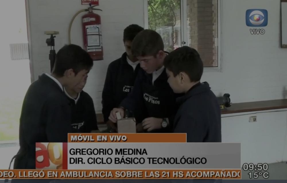 Alumnos de Los Pinos viajan a BsAs -