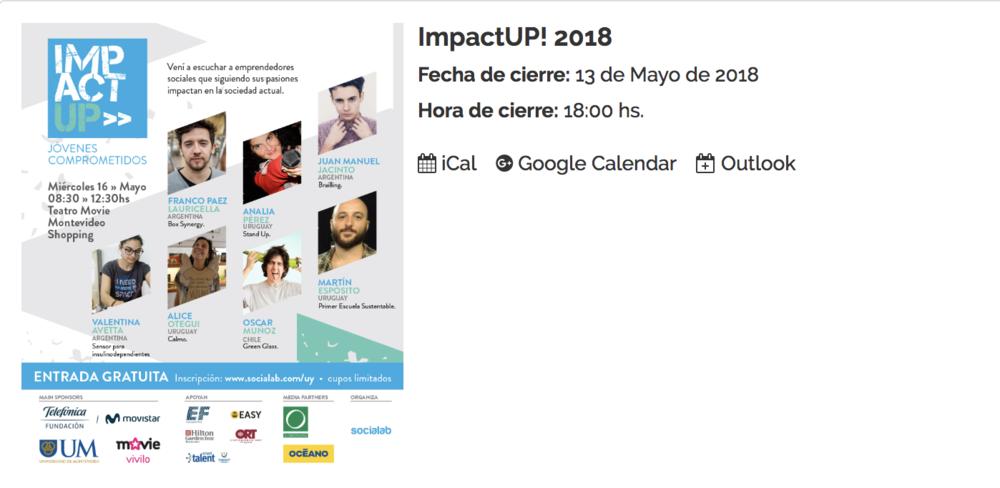 impactUP! 2018 -