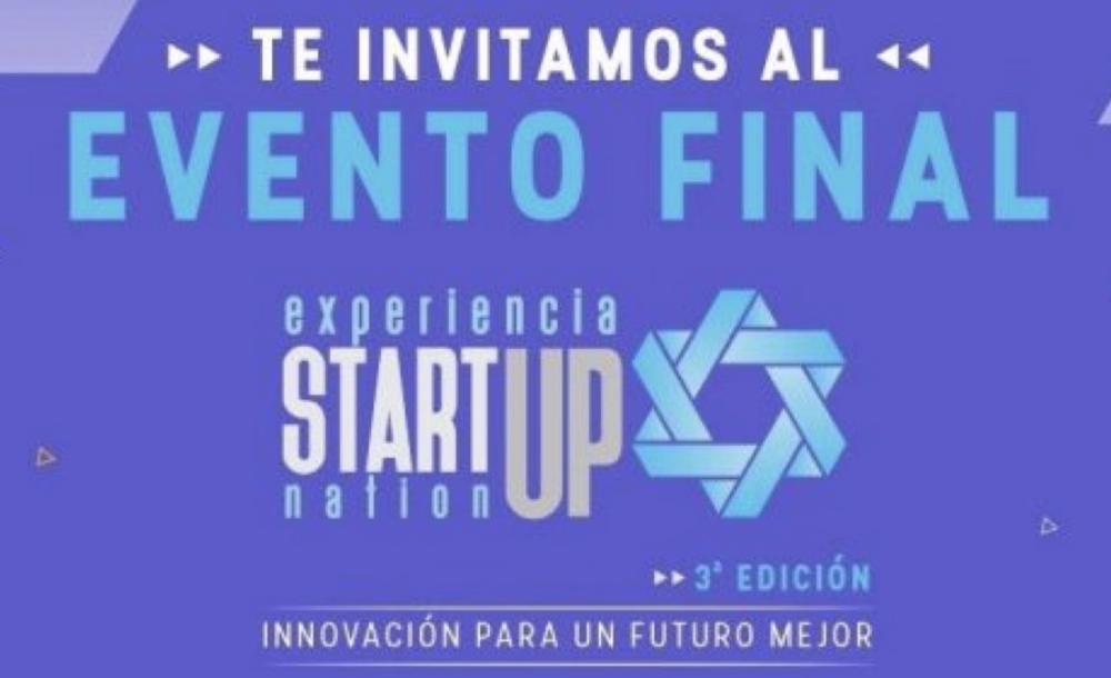 Experiencia Startup Nation: -