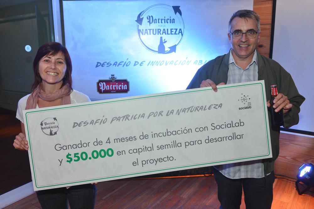 Patricia por la naturaleza - Buscamos ideas que impacten en el medioambiente uruguayo.