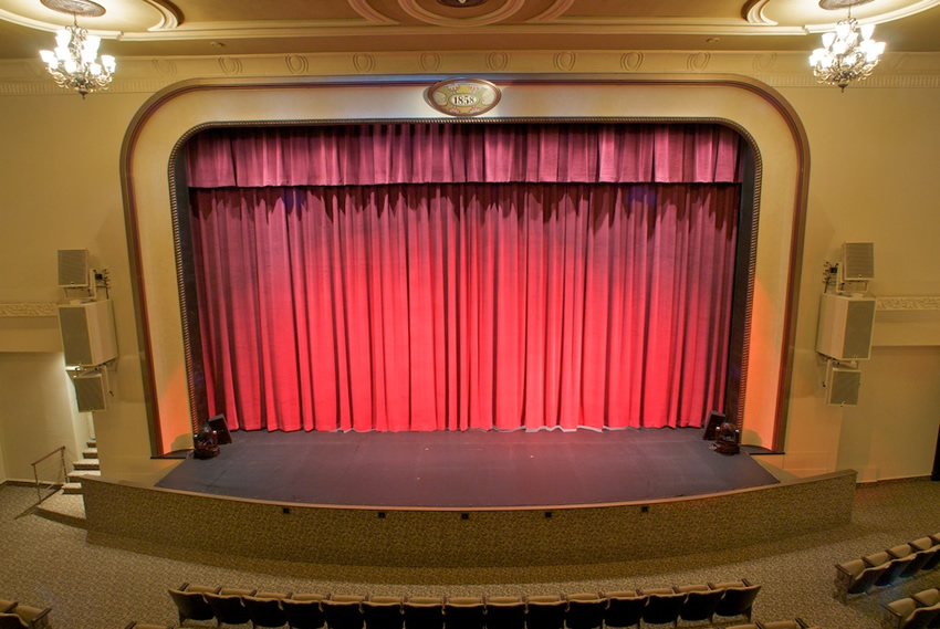 BAC Stage - In 2009, the Brockville Arts Centre underwent a two-million dollar restoration.