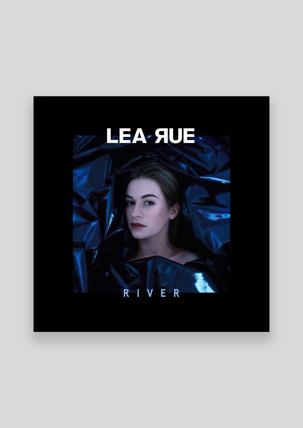Concept and design for the cover of Lea Rue's single 'River'