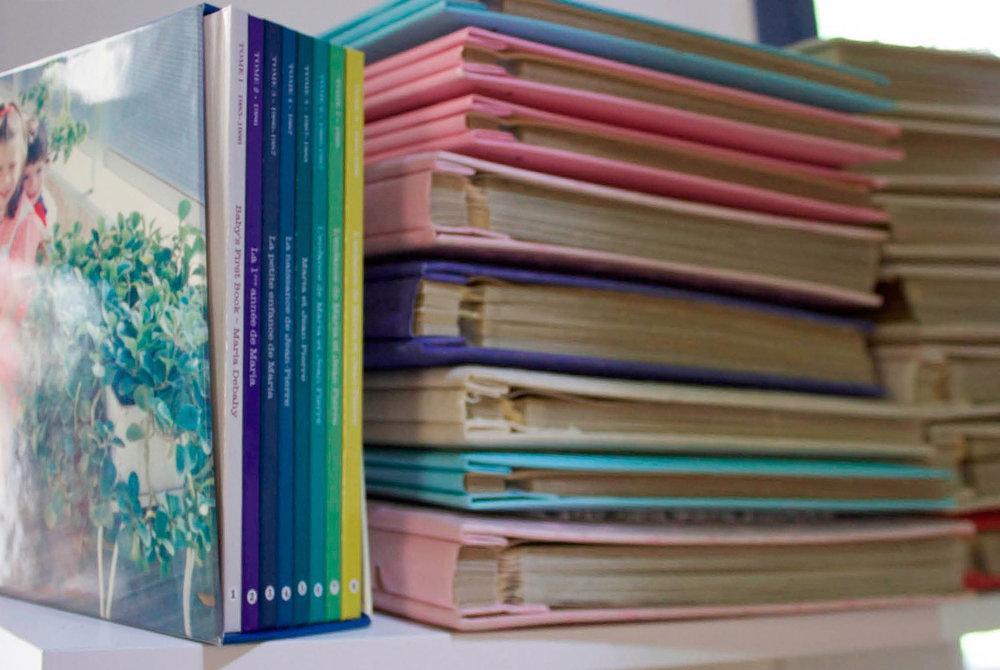 Maria Debahy's photobooks