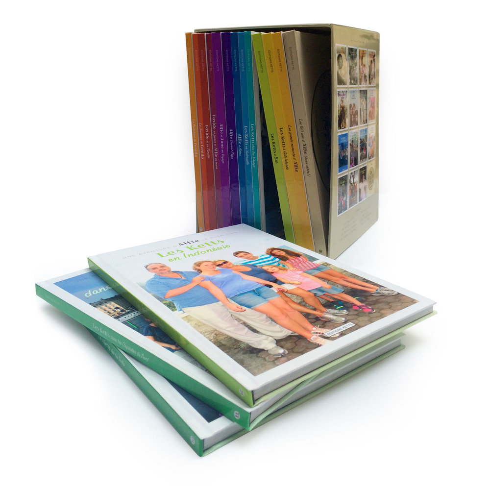 Alfred's photobooks