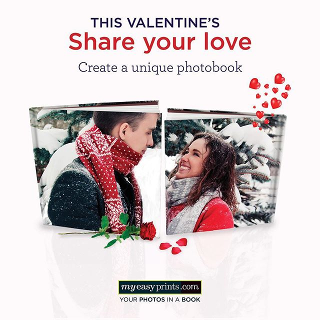 This Valentine's, surprise your loved ones with a picture-perfect gift! Go to myeasyprints.com: a few clicks and pictures are all you need!  #photobook #bookstagram #myeasyprints #valentinesgift #valentinesdaygift #sayitwithphotos