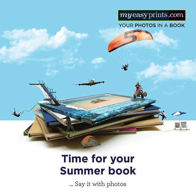 It's time to upload, create and order! Save your favorite summer photos and make every moment count with a personalized photobook from myeasyprints.com #photobook #photoalbum #summerbook #myeasyprints #picturingmylife #sayitwithphotos
