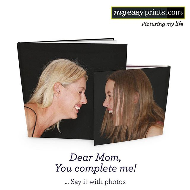 Say your love to your Mom with photos! 💞  Mother's Day is 2 weeks away! Collect your memories with your Mom and surprise her with a unique photo book from myeasyprints.com  #mothersday #motherlove #photobook #gift #memories #memorable #photos #march #spring #special #myeasyprints #mep #personalize #create #creative #sayitwithphotos