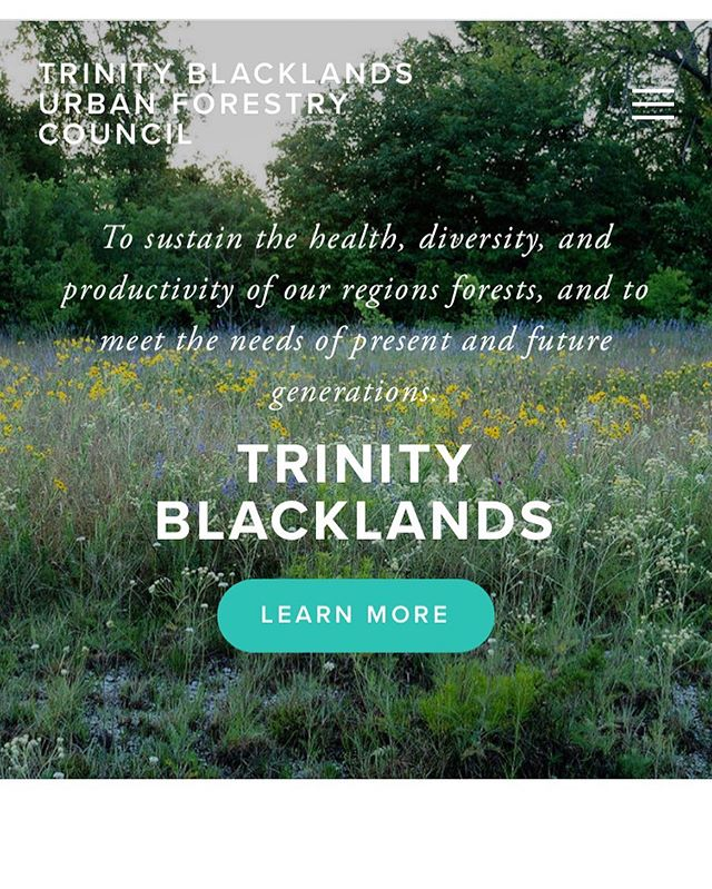 Hello everyone! Our website is officially live again. Visit tbufc.org to learn how you can get involved with us 🌲#trinityblacklands #urbanforestry