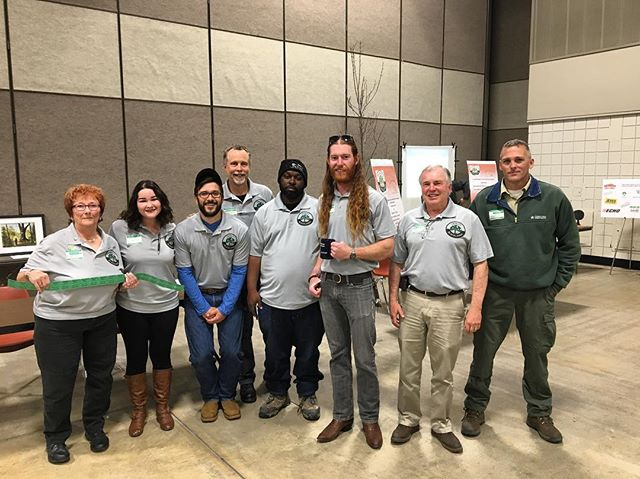 Today's the day! The North Central Texas Urban Forestry Conference is in full swing. Come by and see us 🌲💚 Our Silent Auction and Raffle will be this afternoon! #trinityblacklands #urbanforest #urbanforestry #arboriststrong