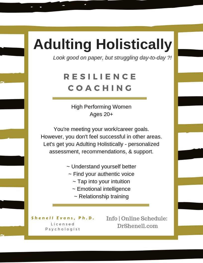 Adulting Holistically - High-Performing Women Ages 20+