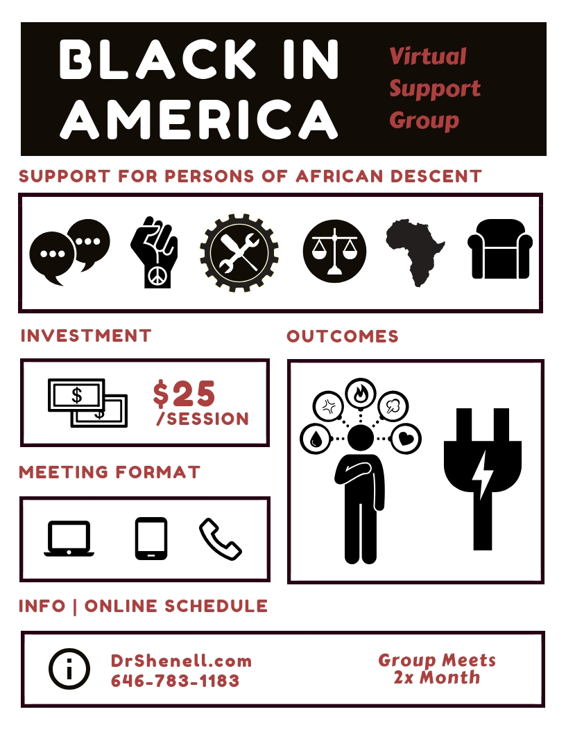 Black in America - Support for Persons of African Descent