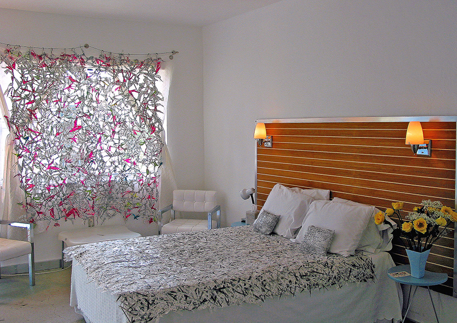 Flower Bedroom - Site-specific installationAqua Hotel | Miami Beach, FL