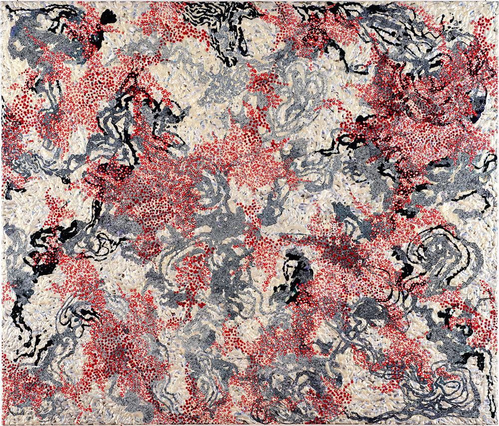 50x42 Japan by Artist Elizabeth Knowles