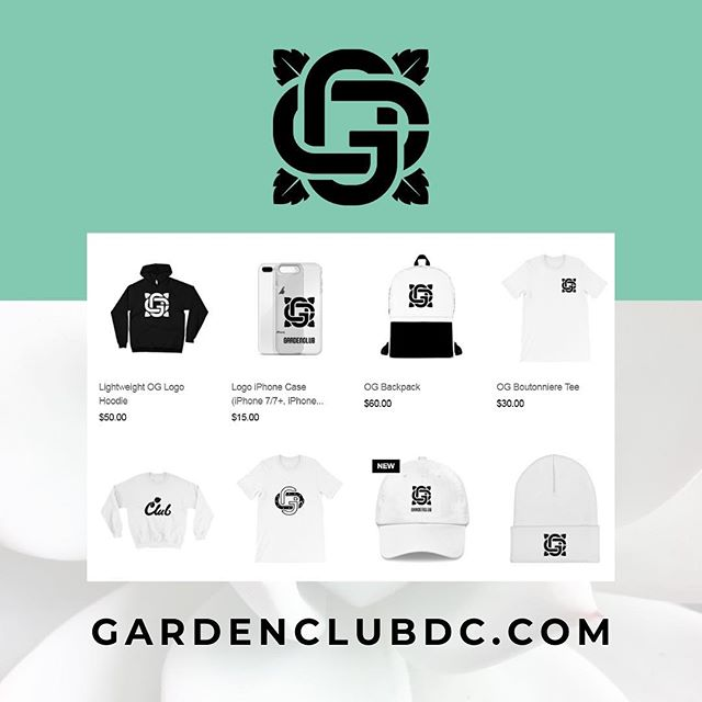 Applying pressure all 2019! One of my best friends + fellow creators website is live today. I'm so proud, go support @gardenclubdc + #WatchtheGrowth! 🌱🐍