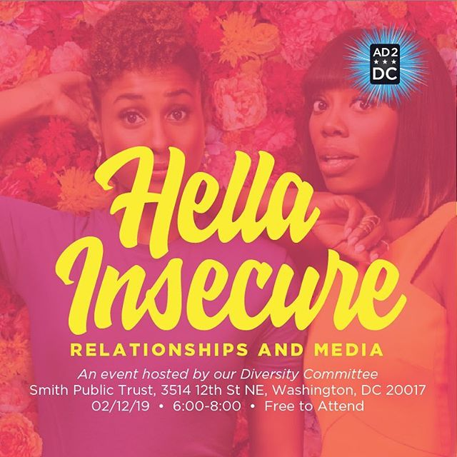 Announcements because honestly, February is lit. Swipe to get the goods: • Hella things going on, starting with Hella Insecure: a relationships + media diversity panel that @ad2dc + I are putting together at @publictrustdc! More information + the link to register for FREE is in my bio. • + Black history month is going up in a major way as today starts two social media campaigns that will continue through the entire month: MAD men + women with the Ad 2 crew on Twitter. You can read about the inspo for that through a link in my bio + on @aaf_dc's blog. Then, there's A Student's Journey for @kingdomchristianacademy on Facebook + Instagram. Content creation for both by yours truly!