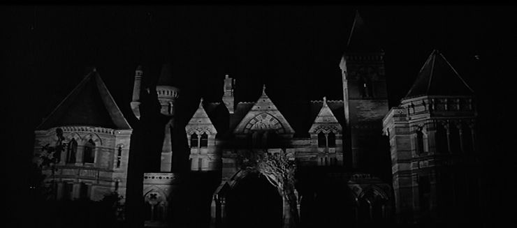 From the 1963 film  The Haunting