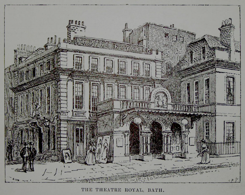 Photo courtesy of London Illustrated News. [Theatre Royal, 1888]
