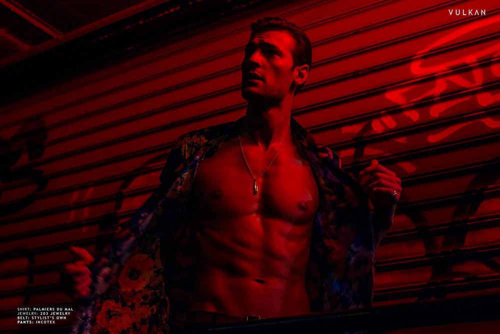 'Heat', an editorial by JOSEPH SINCLAiR - A Vulkan Magazine Exclusive #StyledByCoreyKelly