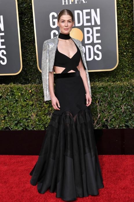 Rosamund Pike wearing Givenchy