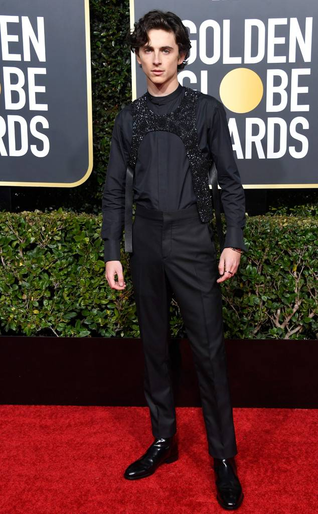 Timothee Chalamet in Louis Vuitton