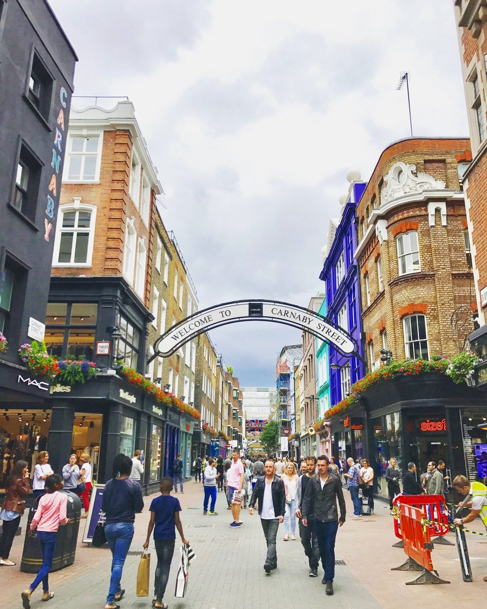 Carnaby+Street+London+-+Where+to+eat