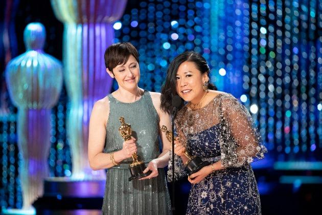 "Domee Shi & Becky Neiman-Cobb - Best Animated Short, ""Bao"""