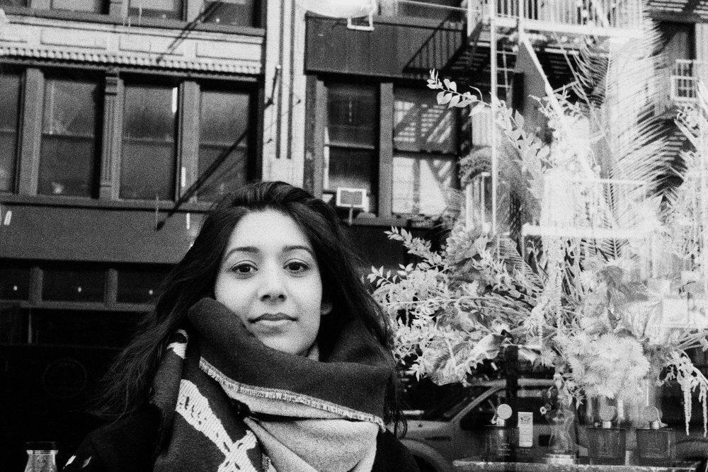 Sonejuhi in Lower Manhattan.