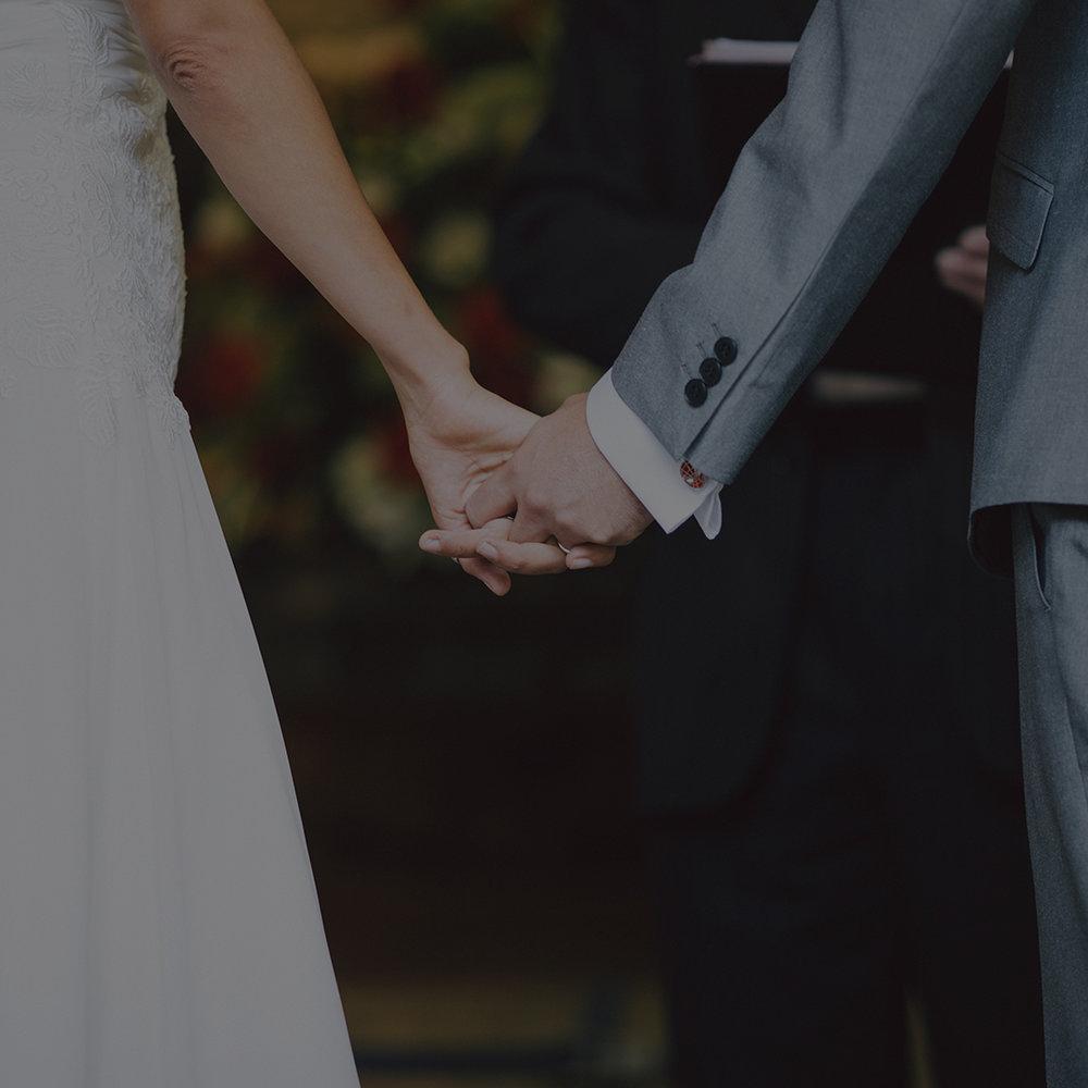 Wedding officiant -