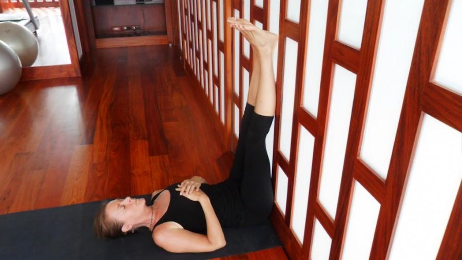 Yoga Posture to Manage Anxiety | KimRoberts.Co
