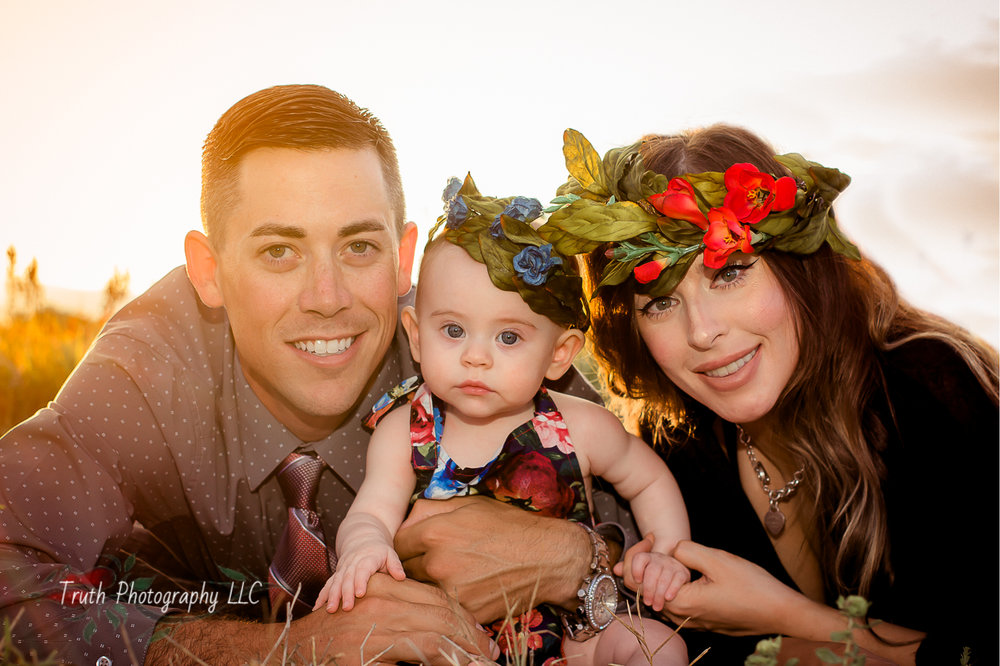 Styled family outdoor photo session in Westminster Colorado