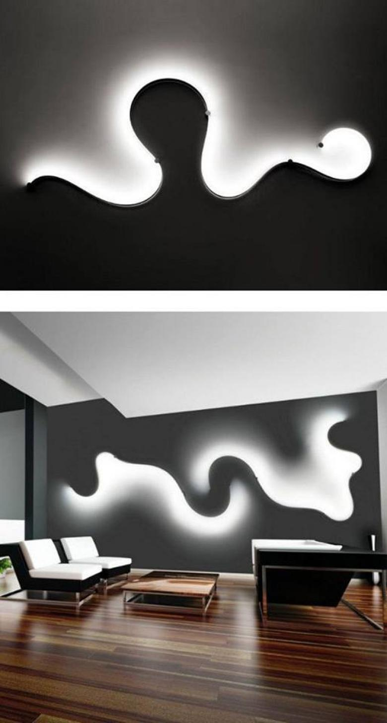 FormaLa Collection – LED wall lamp by Cini&Nils design Luta Bettonica Photo:    pionik.com
