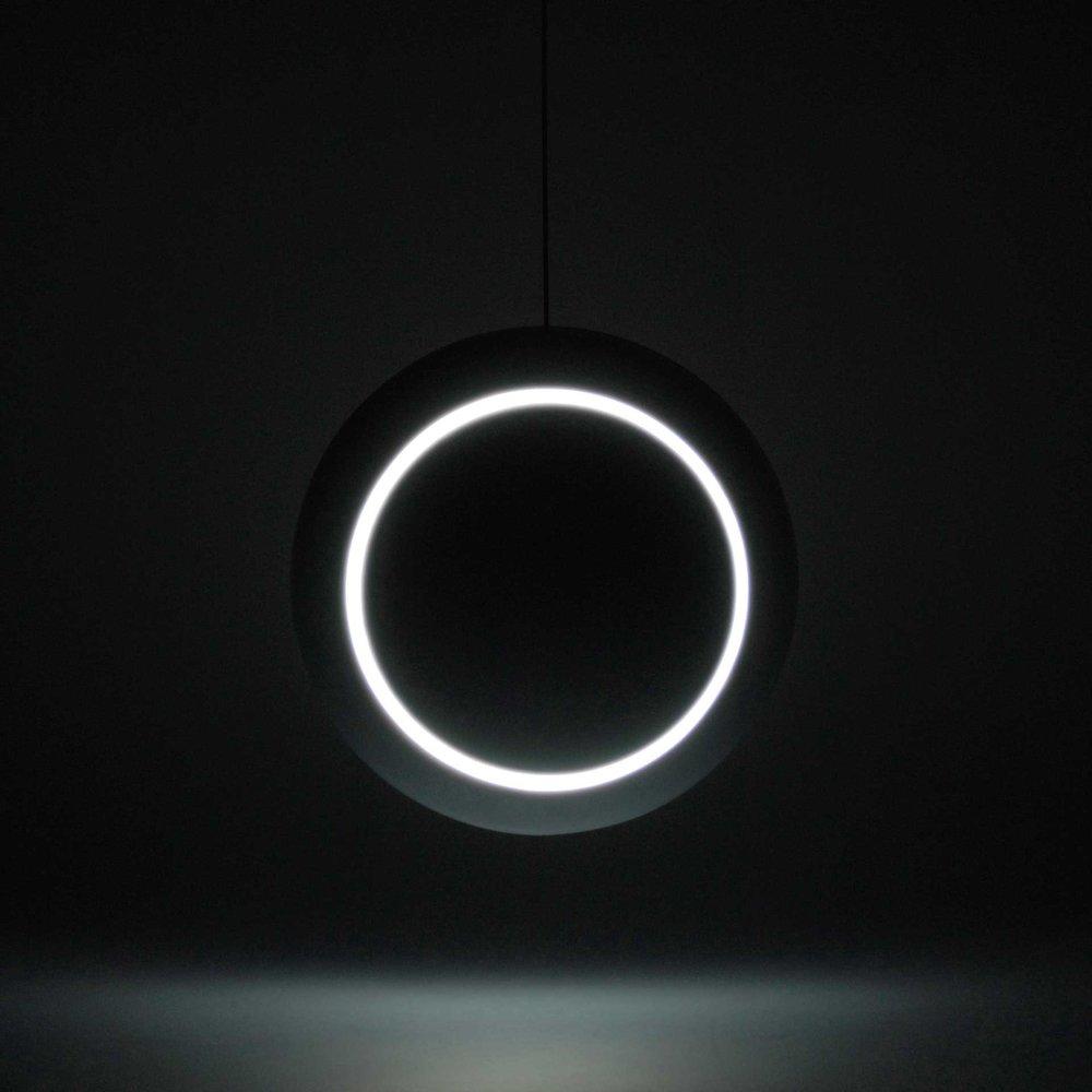 """Lamp """"Nissyoku"""". Photo:   https://www.behance.net"""
