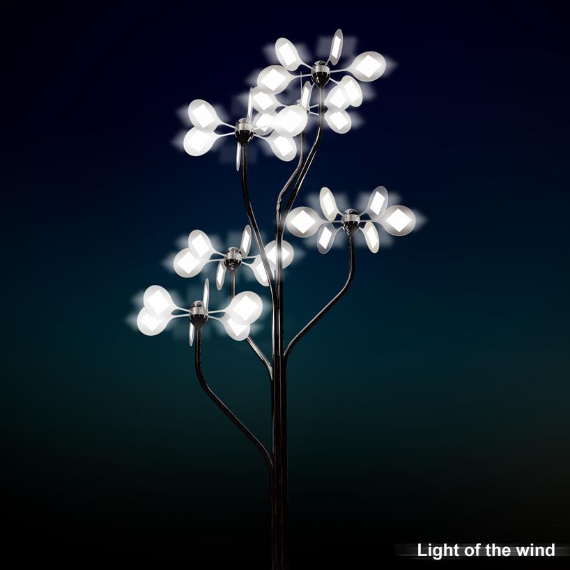 Light of the Wind by Zhufei Zhufei from China Photo:   designboom.com
