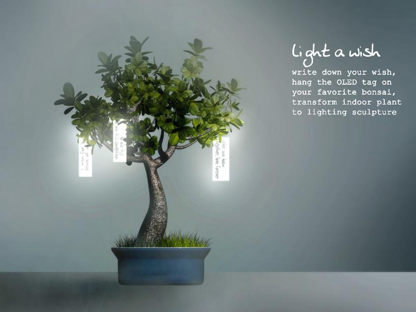 Light a wish by Zijian Li from USA Photo:   designboom.com