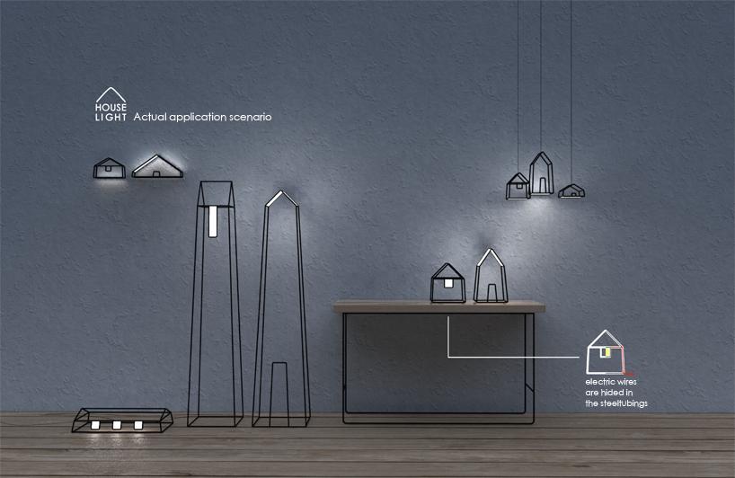 House light by Wei XuLisa LiXiaonan Liu from China Photo:   designboom.com